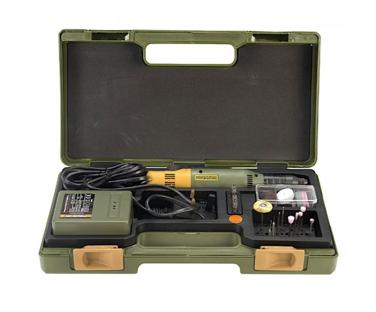 Бормашина Proxxon Micromot 60/E с трансформатором и насадками 28515
