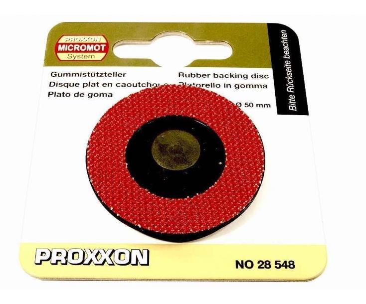 Держатель дисков резиновый Ø 50 мм Proxxon 28548