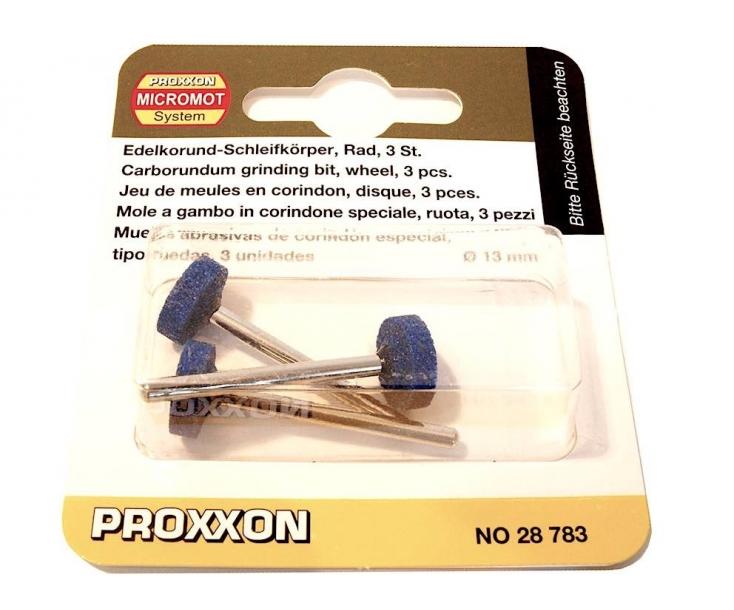Насадки карборундовые (диск Ø 13 мм) Proxxon 28783 3 шт.