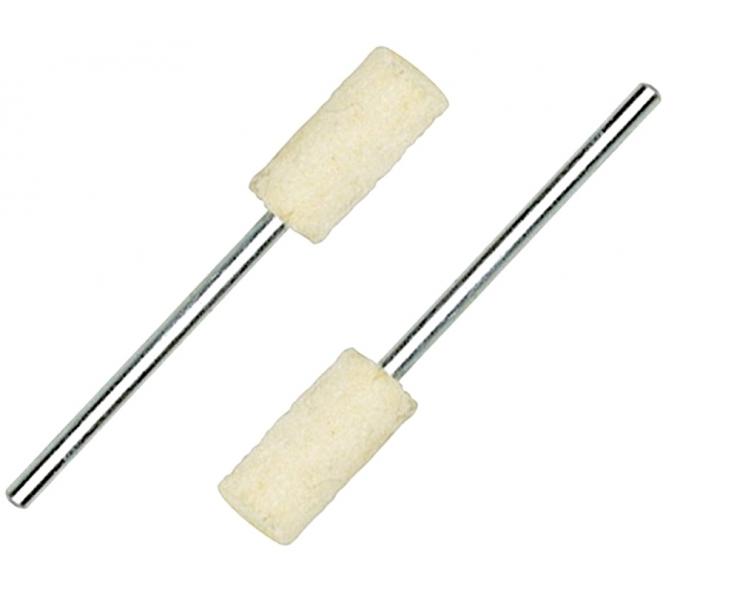 Насадки полировальные войлочные (цилиндр Ø 7 мм) Proxxon 28802 2 шт.