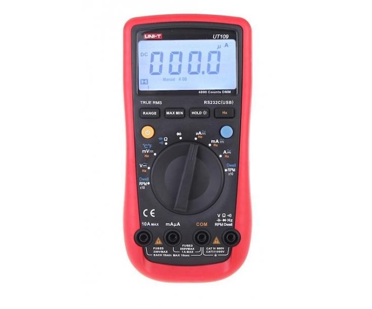 Мультиметр цифровой автомобильный UNI-T UT109