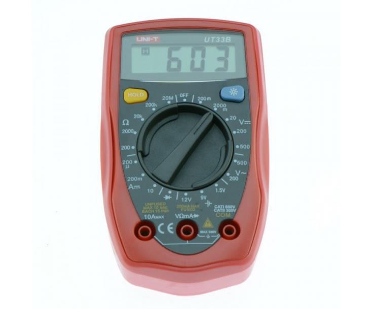 Мультиметр цифровой наладонный UNI-T UT33B