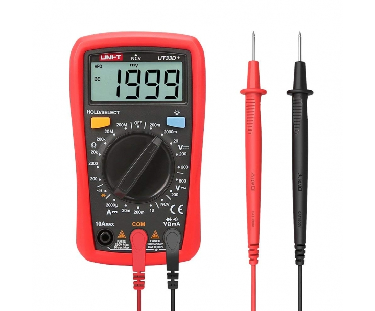 Мультиметр цифровой наладонный UNI-T UT33D+