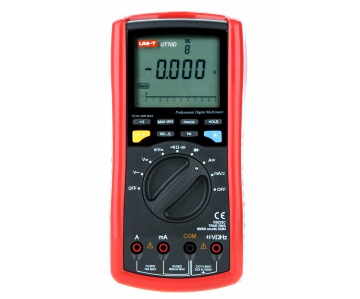 Мультиметр цифровой UNI-T UT70D