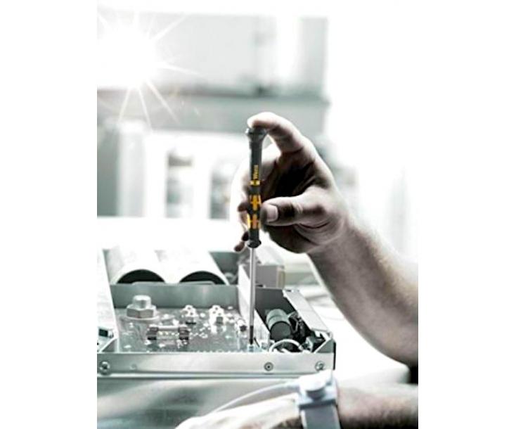 Набор отверток для ремонта Apple iPhone и электроники SL PH Microstix PL на подставке Wera Kraftform Micro 1550/6 ESD WE-030180