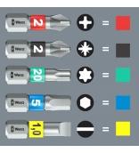 Kraftform Kompakt Stubby 1 Сумка с насадками (SL, PH, PZ, TX, HEX) Wera, WE-057471
