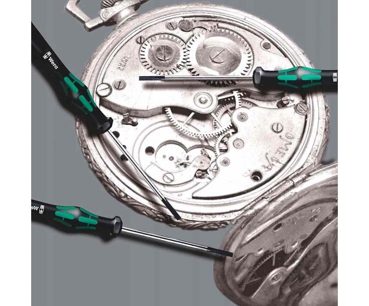 Kraftform Kompakt Micro 11 Electronics 1 набор с битами (PH, TX, TX-Plus, SL, PL, Microstix, HEX Nut), Wera WE-073676