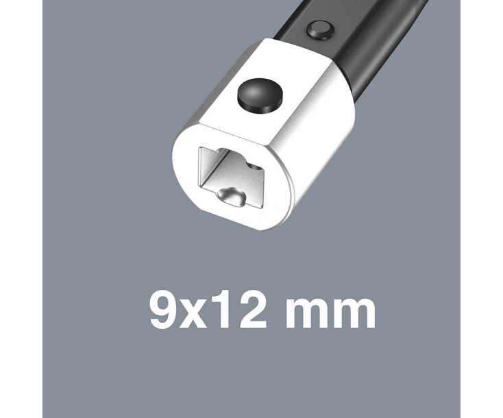 Динамометрический ключ Wera Click-Torque XP 3 15 Nm для сменных насадок WE-075672
