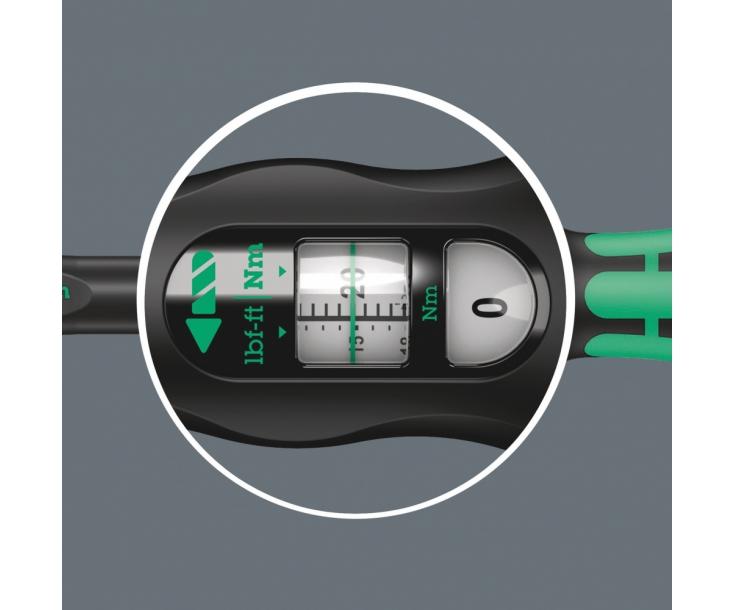 Динамометрический ключ Wera Click-Torque X 4 40-200 Nm для сменных насадок WE-075654