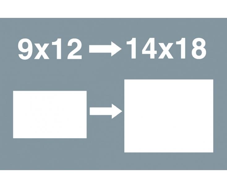 Насадка-переходник 9x12 мм для сменных инструментов Wera 7779/1 WE-078666