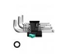 Набор Г-образных ключей, метрических, хромированных Wera 950 PKS/9 SM N WE-133163