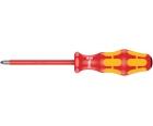 Отвертка Pozidriv Wera Kraftform 165 i PZ VDE WE-006164 PZ 2 х 100 изолированная крестовая