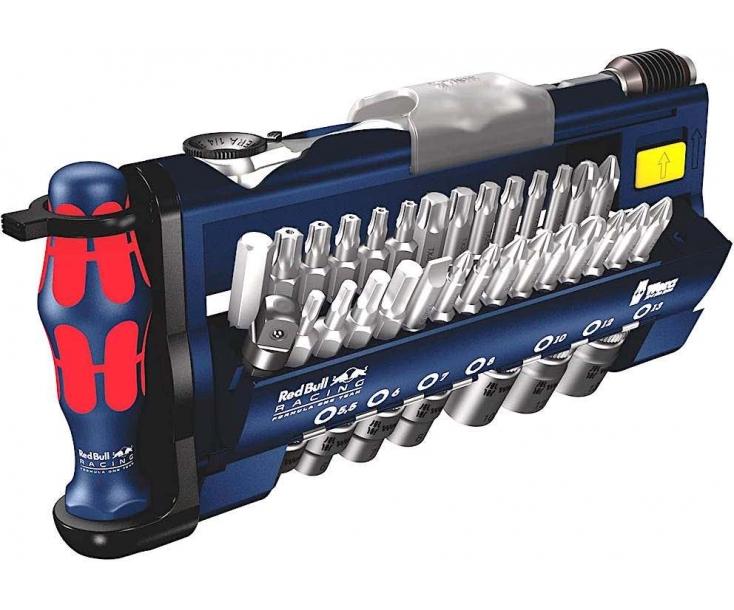 Tool-Check PLUS-1 Набор насадок (SL, PH, PZ, TX, TX BO, HEX) Wera WE-227704