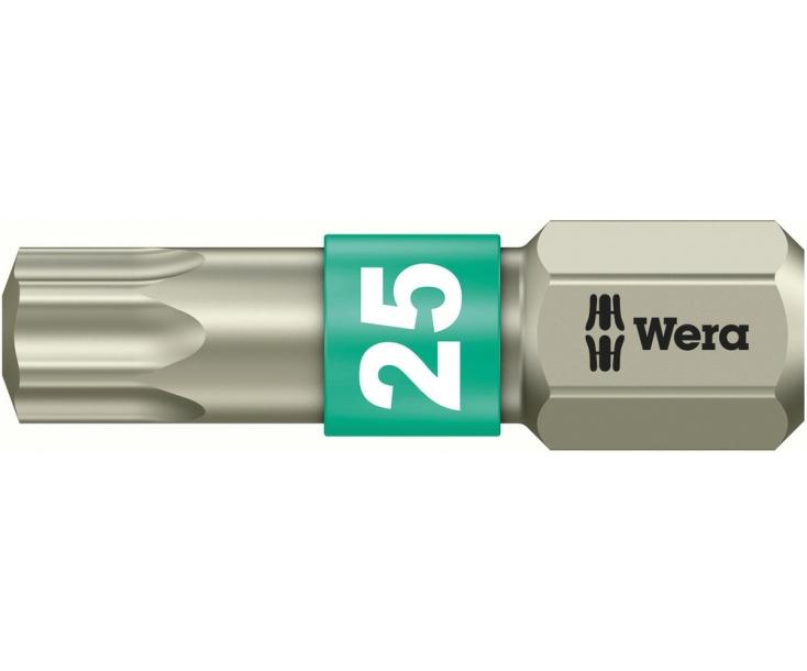 Насадка Wera 3867/1 TS TORX WE-071035 TX 25 х 25 мм нержавеющая сталь