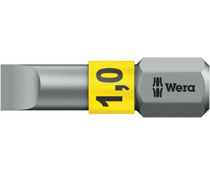 Насадка Wera 800/1 BTZ WE-056068 шлицевая 1.2 х 6.5 х 25 BiTorsion