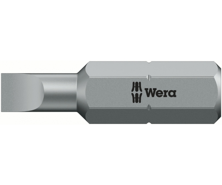 800/1 Z Шлицевая насадка 1,6 х 25 мм Wera WE-072065
