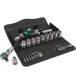 8100 SC 9 Zyklop Speed - набор с трещоткой, привод 1/2 Wera WE-004079