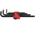 Набор Г-образных ключей, метрических Wera 950 PKL/9 BM N BlackLaser WE-022086