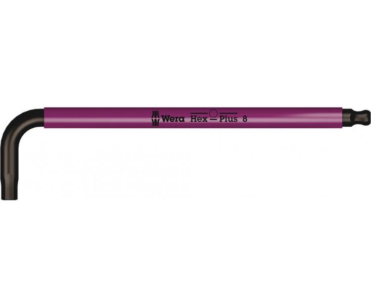 950 SPKL Г-образный ключ, метрический Multicolour, BlackLaser Wera WE-022610