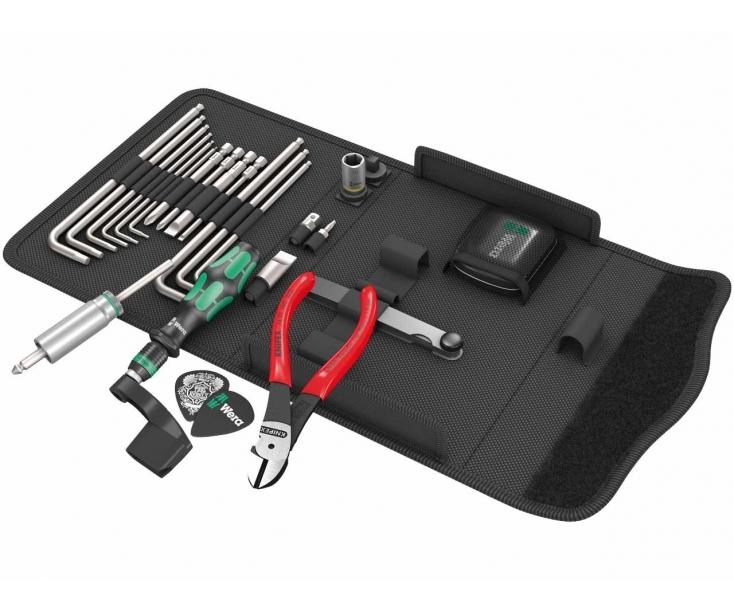 Набор для ремонта гитар Wera Kraftform Kompakt 9100 SL PH HEX HEX Nut WE-134015 23 предмета