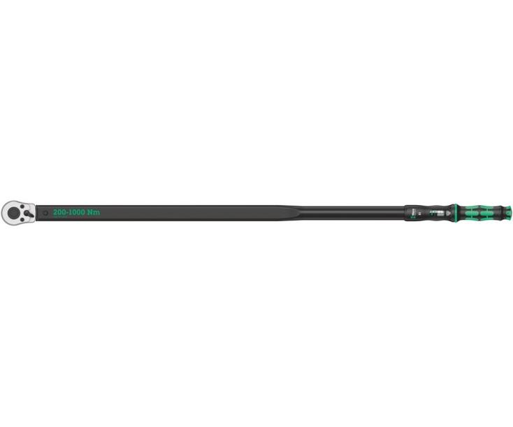 Динамометрический ключ Wera Click-Torque E 1 200-1000 Nm с трещоткой с реверсом WE-075630