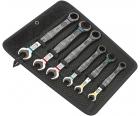 Набор двусторонних рожковых / комбинированных ключей с храповым механизмом Joker Wera WE-020022