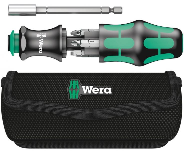 Kraftform Kompakt 28 Набор насадок (SL, PH, PZ) с сумкой, Wera WE-134491
