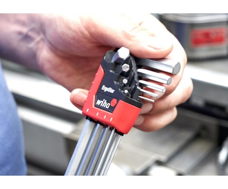 Набор штифтовых ключей TORX Wiha Ergostar SB 366BE HZ13 43847, 13 предметов в блистере