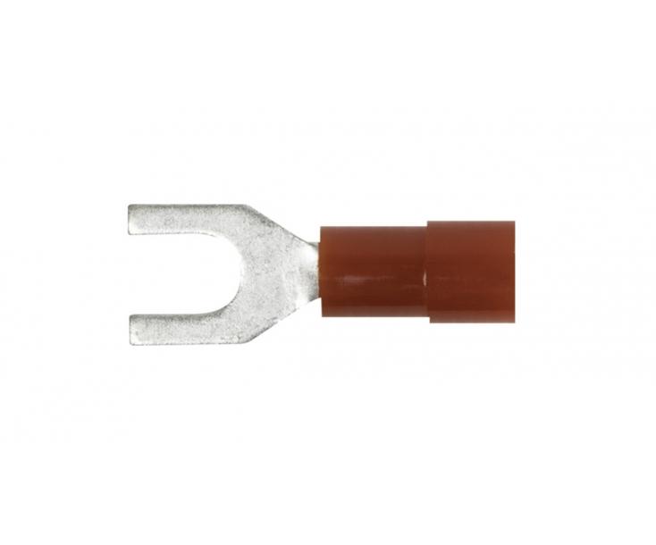 Наконечники кабельные вилочные изолированные Wiha C040 43962 100 шт.