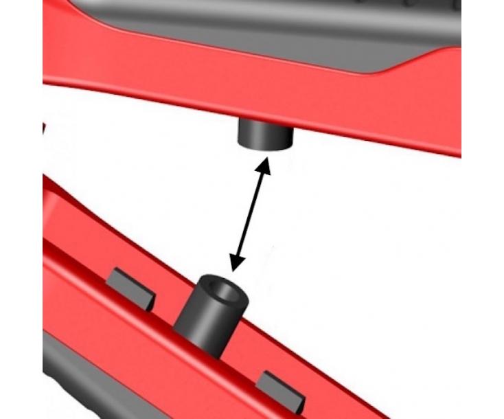 Ножницы Denakut для гофрошланогов и металлопластиковых труб 26 мм Zenten 5126-1