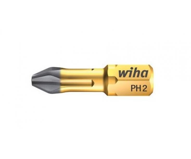 Бита Wiha DuraBit Phillips 7011 DR 23116 PH2 x 25 крестовая