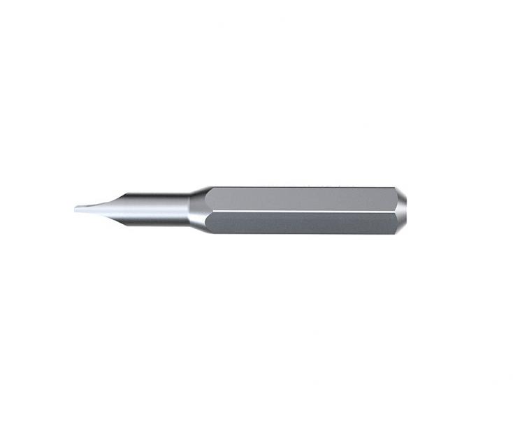 Бита Wiha Micro bit Slotted 7000 4 Z 40605 2,5 x 28 шлицевая