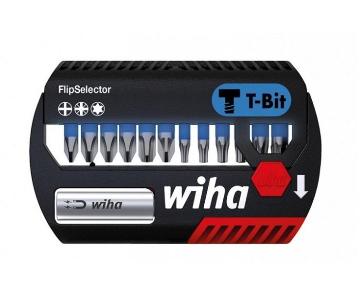Набор с битами T-Bit PH PZ TX Wiha FlipSelector Z SB 7947-T906 41824, 13 предметов