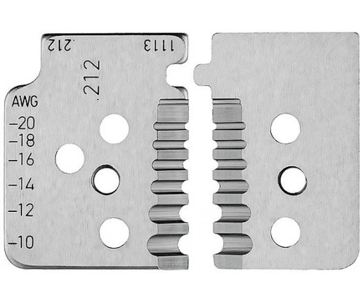 1 пара запасных ножей для KN-121213 Knipex KN-121913