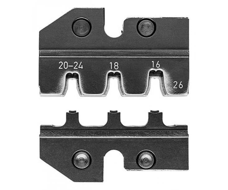 Плашка опрессовочная для разъемов Mini-Fit Knipex KN-974926