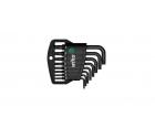 Набор штифтовых ключей TORX Tamper Resistant Wiha Classic SB 363TR H8 36458 8 пр. в блистере