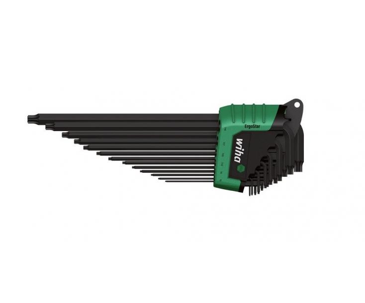 Набор штифтовых ключей TORX MagicSpring Wiha Ergostar 366R HZ13 36503, 13 предметов