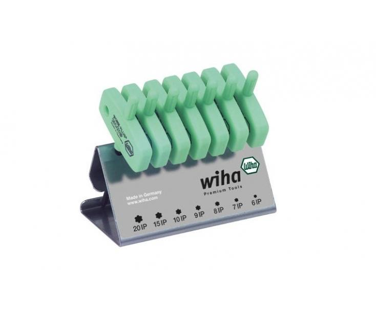 Набор отверток TORX PLUS с рукояткой-ключиком Wiha 365IP VB 26261 в подставке, 7 предметов