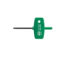 Отвертка TORX с рукояткой-ключиком Wiha 365 01355 T15 х 45