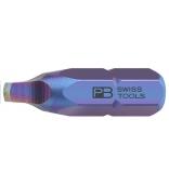"""Бита Robertson PrecisionBits C6,3 с внешним шестигранником 1/4"""" PB Swiss Tools PB C6.185/1"""