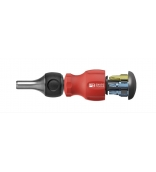 """Универсальный магазинный держатель бит с трещоткой PrecisionBits C6,3 1/4"""" SL PH TX Insider Stubby SwissGrip PB Swiss Tools PB 8453.R-30"""