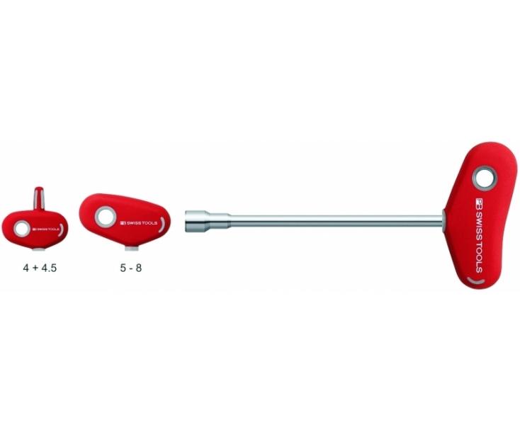 Отвертка-торцовый ключ HEX Nut с Т-образной ручкой PB Swiss Tools PB 202.11-230 M11