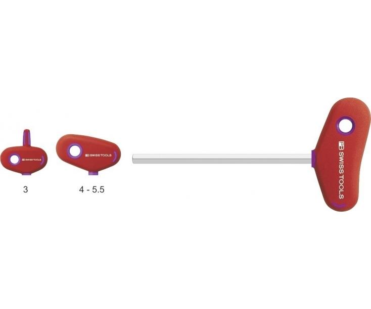 Отвертка HEX PB Swiss Tools с Т-образной рукояткой длинная PB 207.L 2-200 M2
