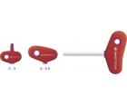 Отвертка HEX PB Swiss Tools с Т-образной рукояткой PB 207.6-80 M6
