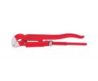 Трубный ключ Wiha Classic с S-образной формой зева Z 26 0 00 29437 под углом 45°