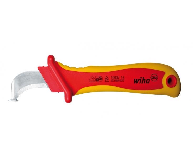 Нож для снятия оболочки с круглых кабелей Wiha 246 78 SB 36053