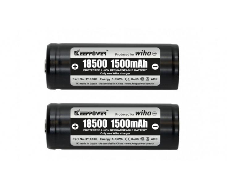 Аккумуляторы сменные 18500 599001 41914 в блистерной упаковке 2 шт.
